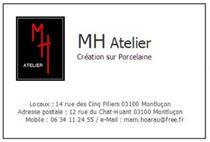 MH Atelier / Marie Hoarau Carte de visite Ⓒ MH Atelier / Marie Hoarau