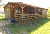 Camping Domaine Sainte-Marie Chalet lavendel Ⓒ Site internet - 2020