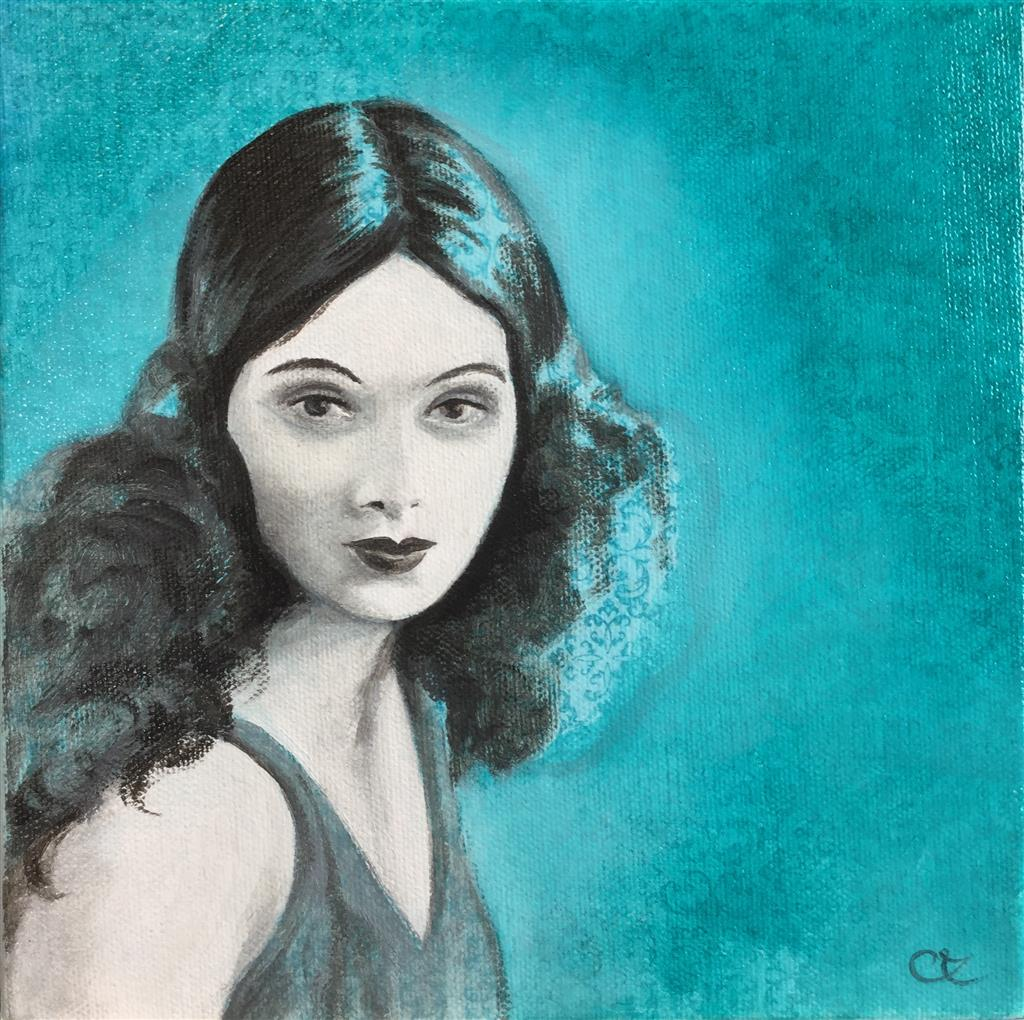 Peinture, dessin, gravure : Céline Excoffon Huille sur toile Ⓒ Céline Excoffon