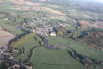 Aéro-club du Pays de Lapalisse Château de Jaligny et méandres de la Besbre Ⓒ ACPL - 2014
