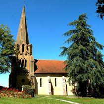 Eglise st Georges Eglise de Couzon Ⓒ Mairie de Couzon