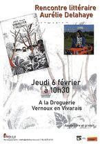 Rencontre littéraire : Aurélie Delahaye présente son roman