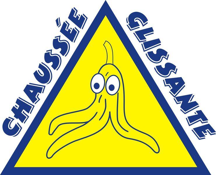 Logo Chaussée Glissante - © Chaussée Glissante