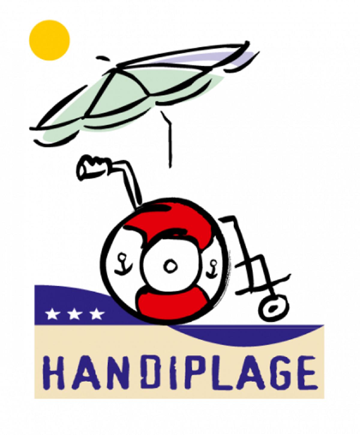 Label Handiplage