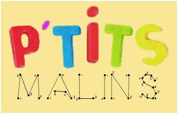 Logo garderie les P'tits Malins