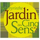 Logo Jardin des Cinq Sens