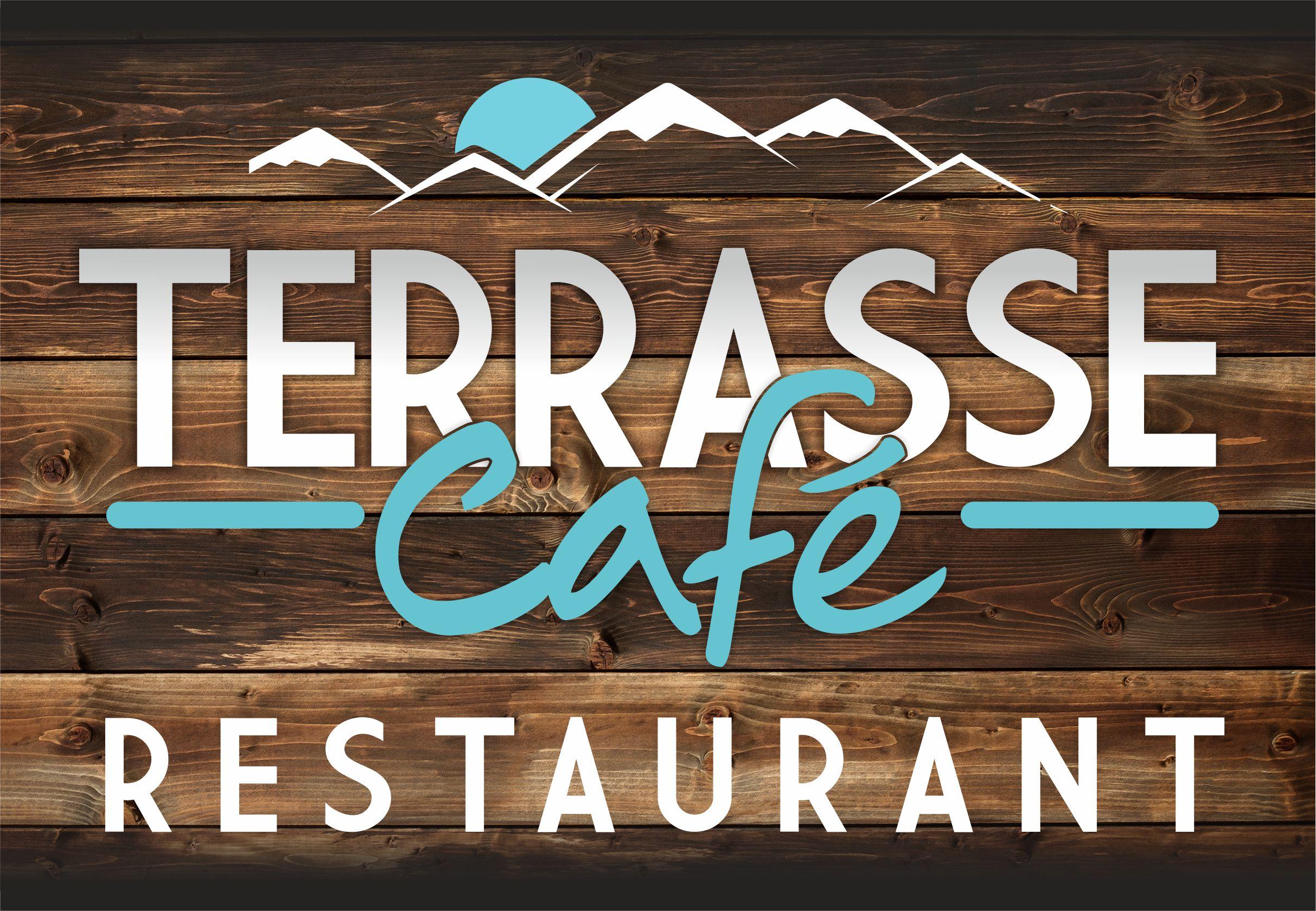 Terrasse café  Restaurant ski Megève