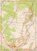 Plan du circuit du Col de la Chal