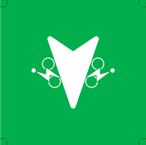 Fléchage vert