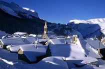 Villar d'Arène sous la neige - @OTlaMeije