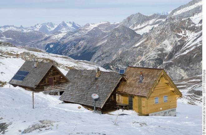 Refuge de la Valette - refuge du Parc national de la Vanoise - ouvert hors pério