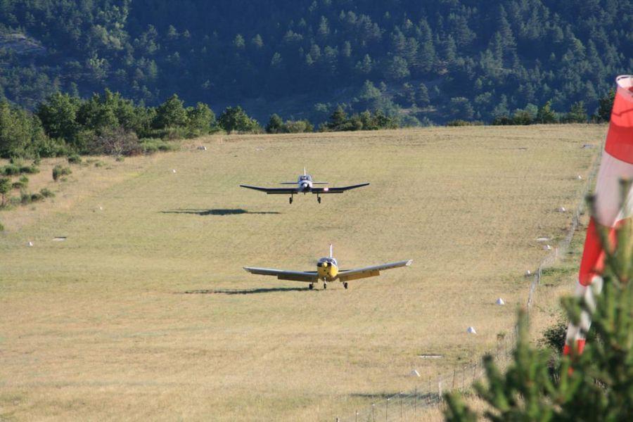 Vol en avion avec l'aéroclub de La Motte-Chalancon - La Motte-Chalancon