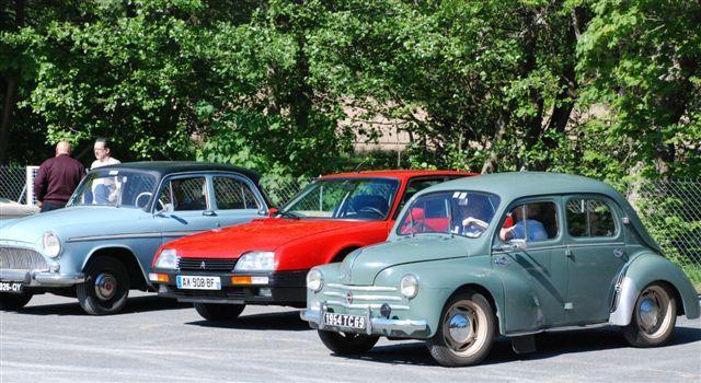 Rendez-vous d\'anciennes voitures