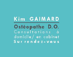 Kim Gaimard ostéopathe