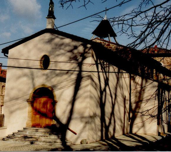 Chapelle de Clévy