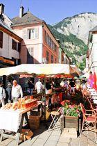 Marché de Bourg d'Oisans - Images et rêves