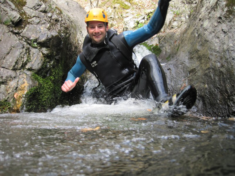Canyoning avec les Intraterrestres