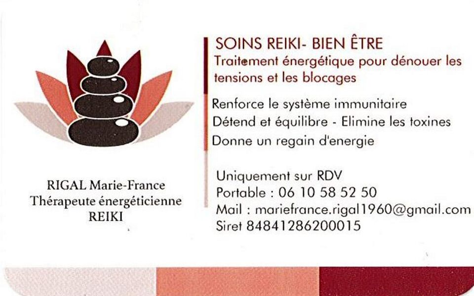 Rigal Marie-France - Energy Therapist - Rigal Marie-France