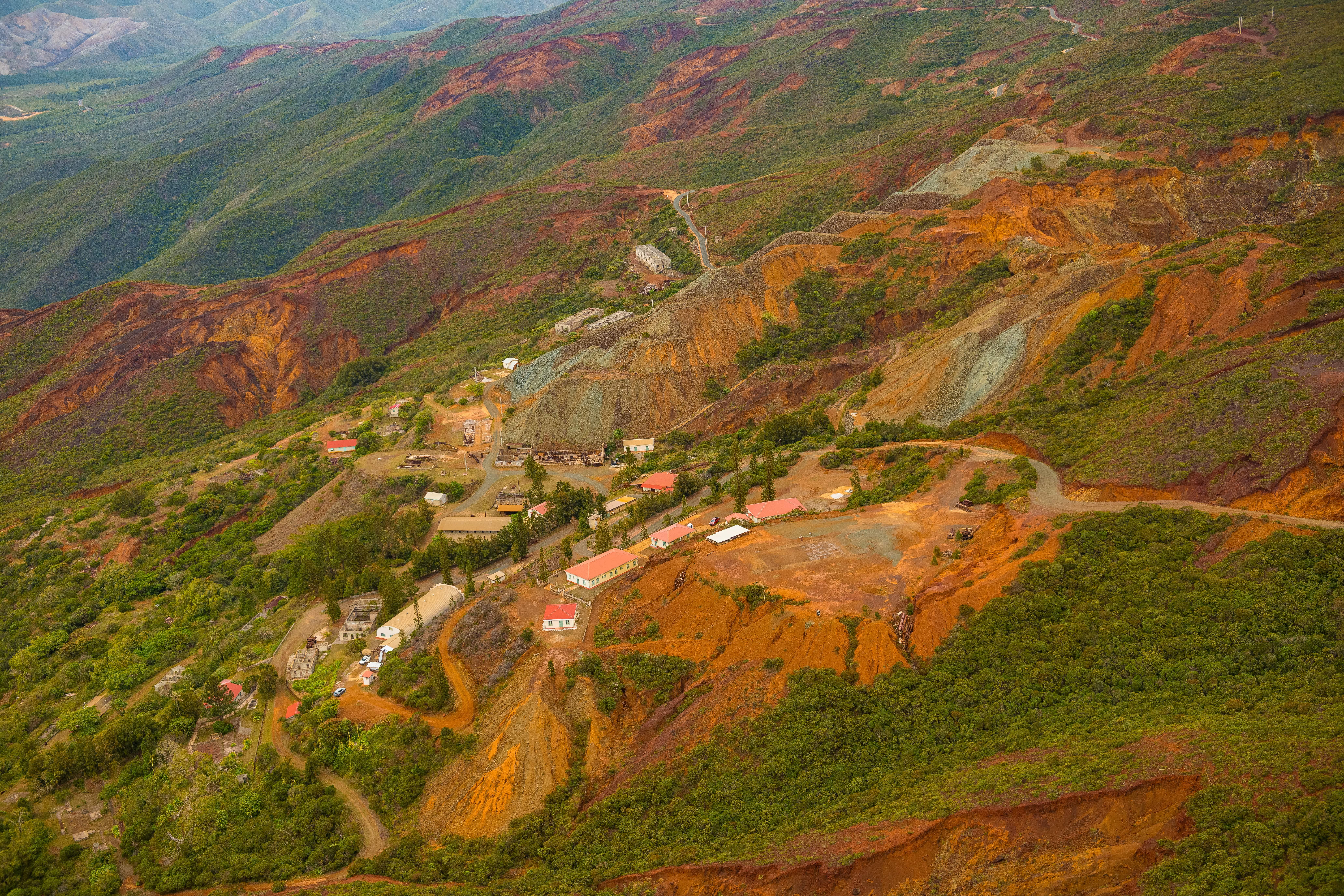 Visite de la mine de Tiébaghi