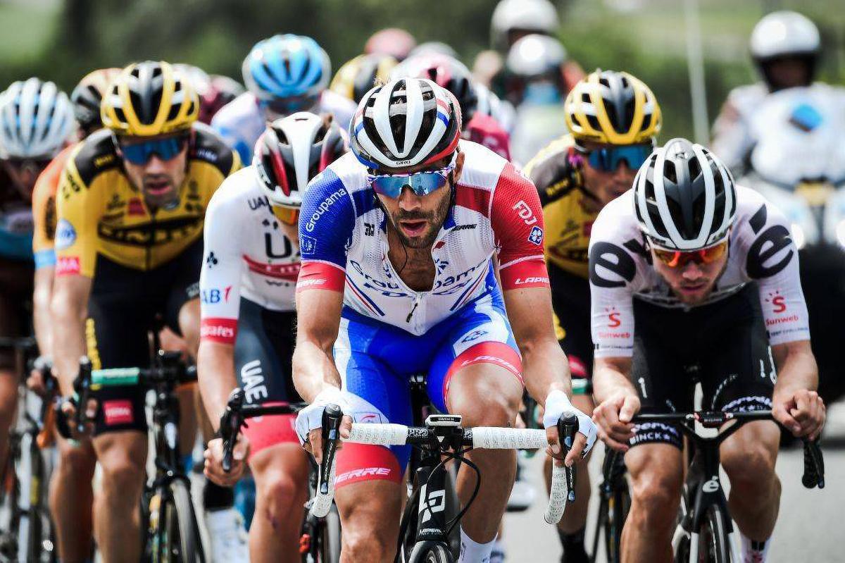 Passage du Critérium du Dauphiné