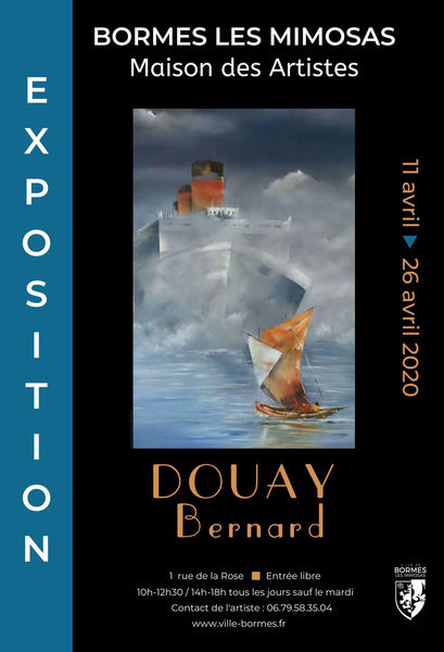 Annulée - Exposition Bernard Douay