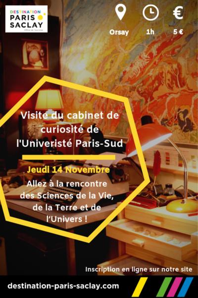 Visite du Cabinet de Curiosités de l'Université Paris-Sud