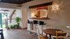 Entrée et espace bar Ⓒ Auberge St Martin Coulandon