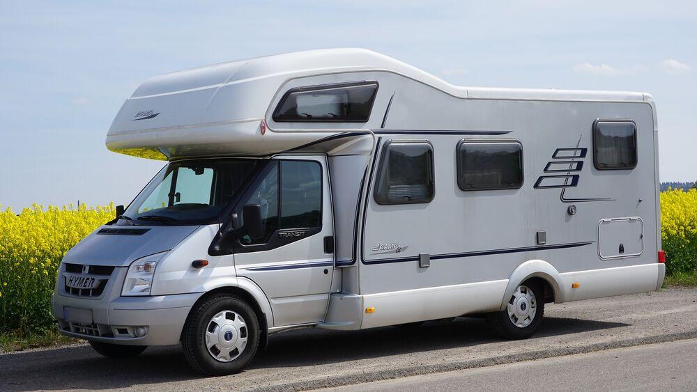 Aire de service municipale de camping-car