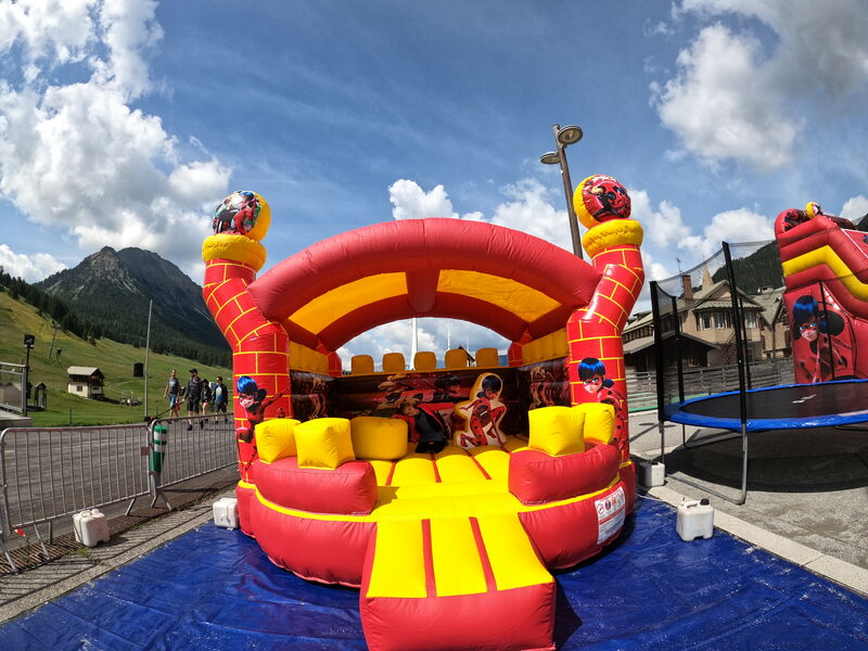 Jeux Gonflables - Jeux Gonflables - Montgenèvre, Parc Enfants