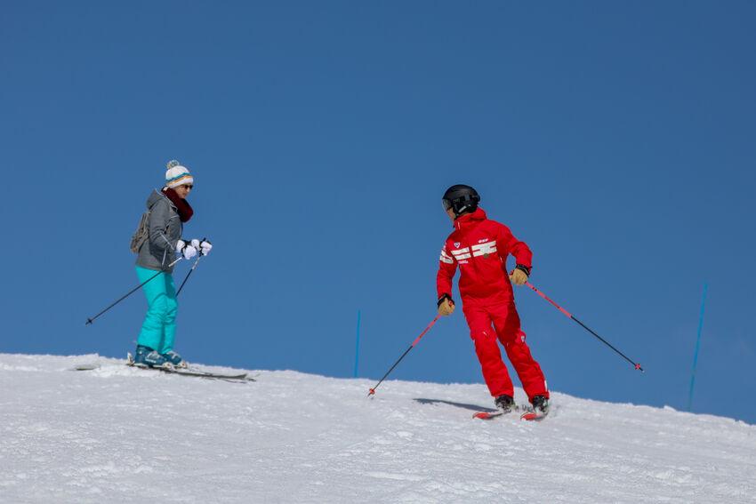 Lecon individuelle ski orelle