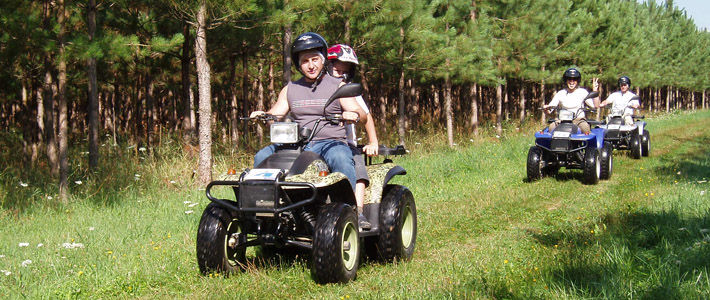 Boutervilliers - Quad rides in the south of Essonne