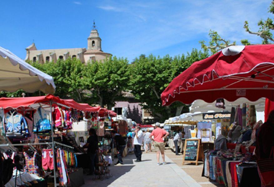 Marché provençal - Bédoin