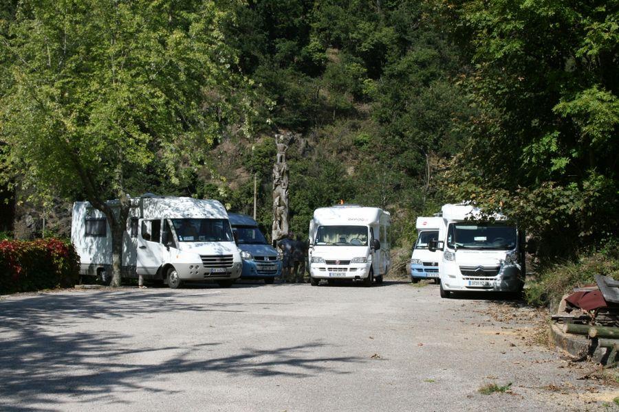 Borne de Services Camping-Car de Mazamet (Maison du Bois & du Jouet)