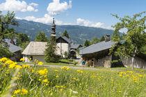 Visite du village de Chantemerle