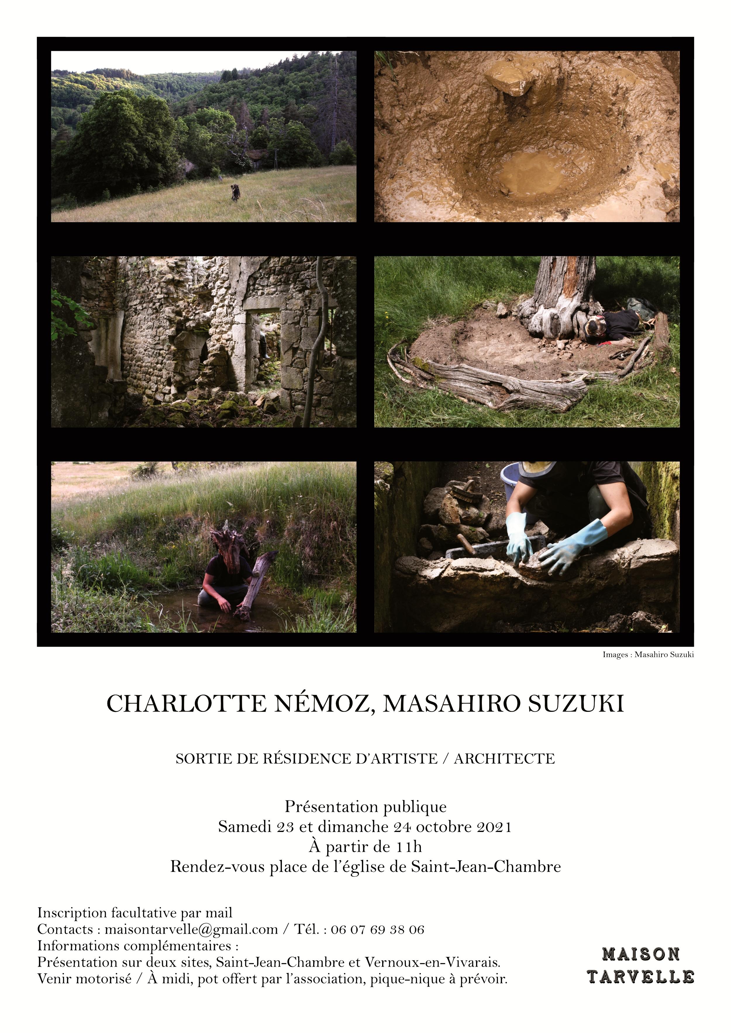 Rendez-vous futés ! : Sortie de résidence artistique art/architecture (Charlotte Némoz et Masahiro Suzuki)
