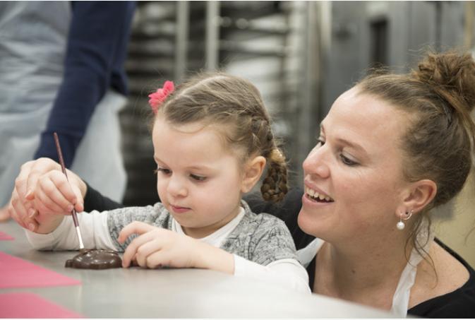 La Boite à biscuits: atelier de fabrication de biscuits/chocolats