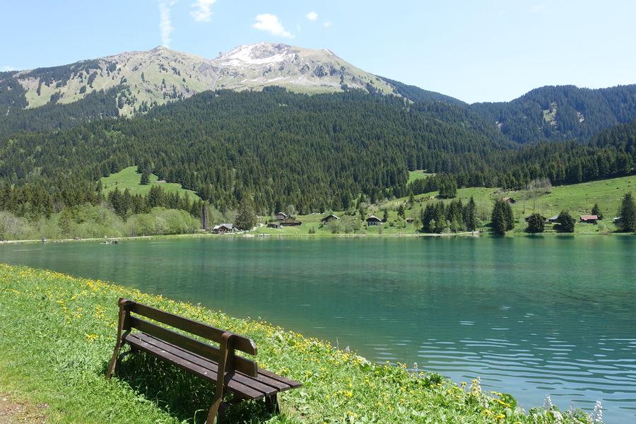Randonnée Le tour du lac des Plagnes