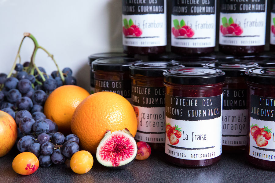 Atelier des Jardins Gourmands jams workshop