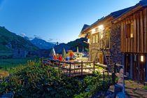 Couché de soleil en terrasse