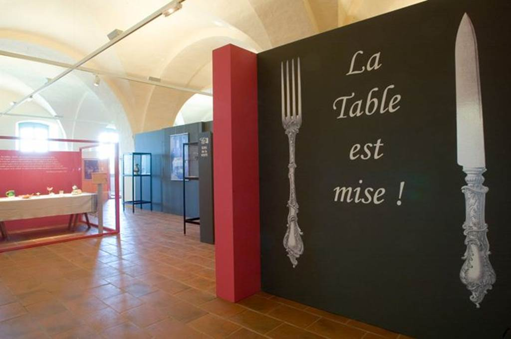 Musée des Arts de la Table - Abbaye de Belleperche