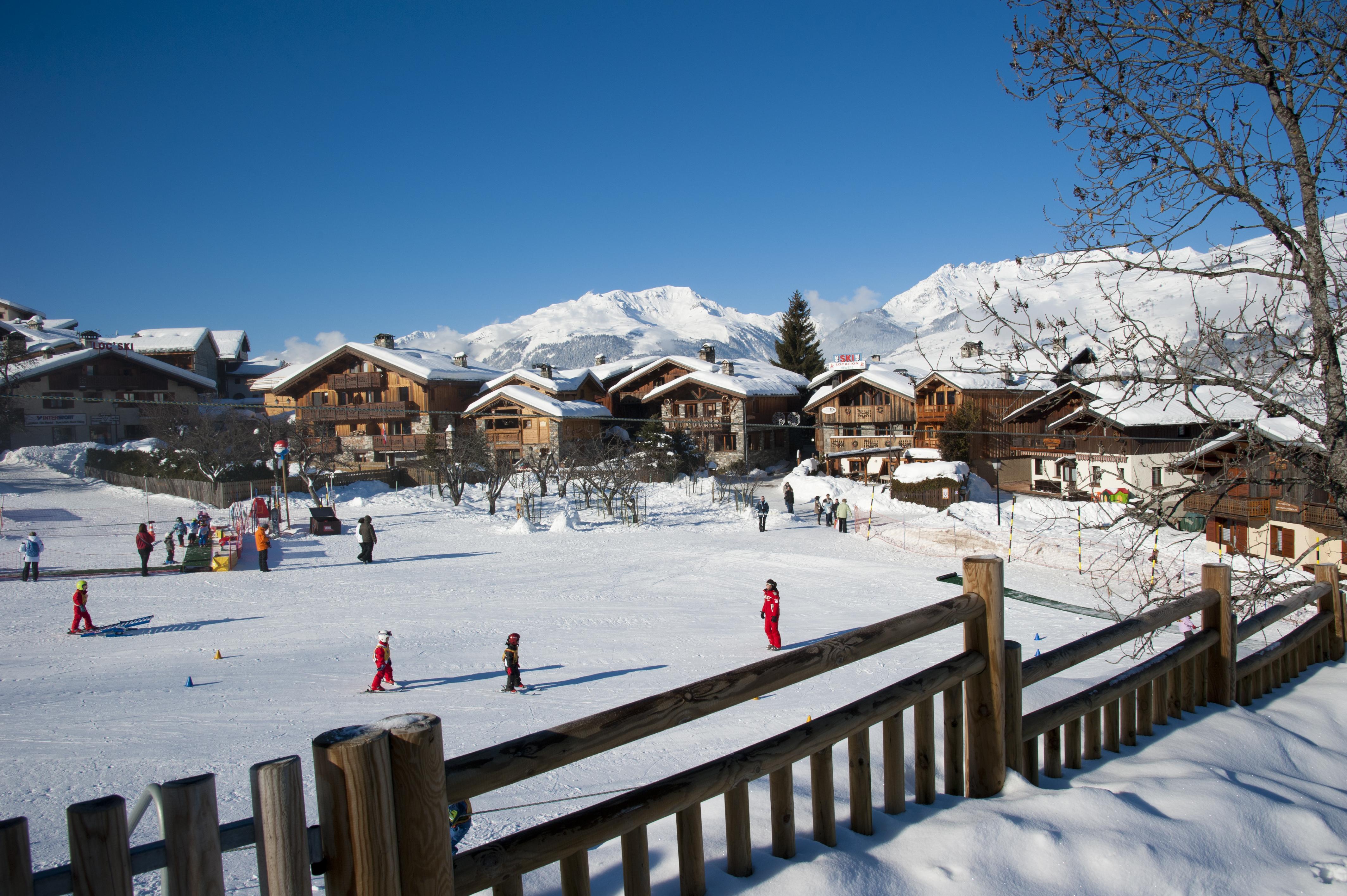 Le tour du village la plagne station de ski la plagne - Office tourisme montchavin ...