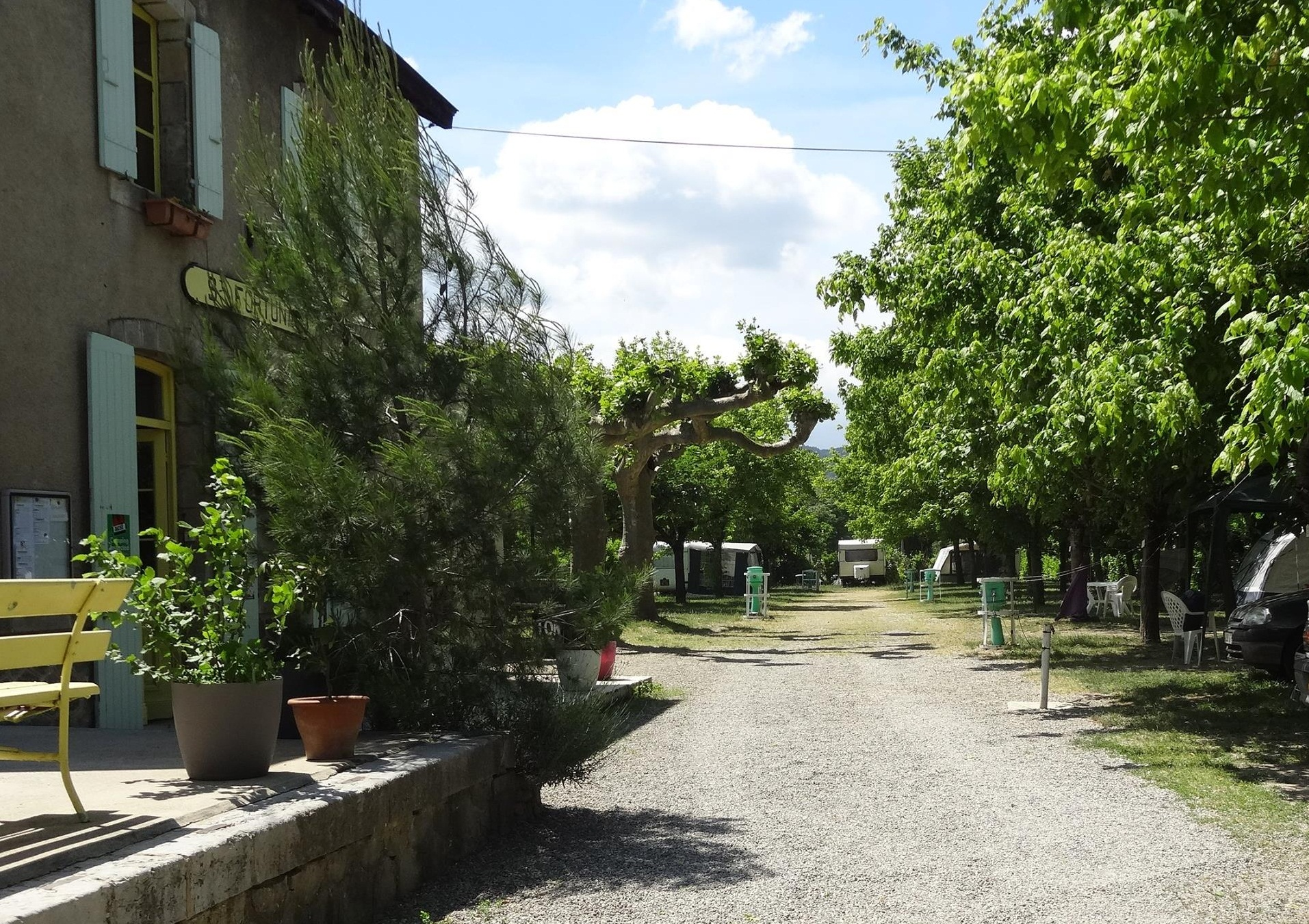 Camping sites : La Gare des Amis Campsite