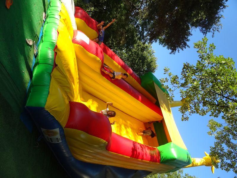 Jeux gonflables - Camping Saint-Disdille