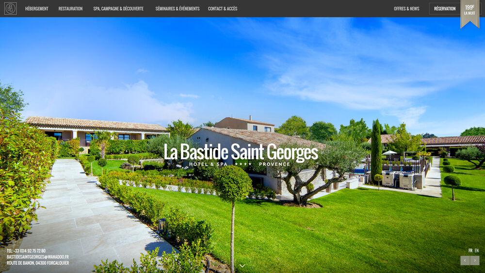 Hôtel la Bastide Saint Georges