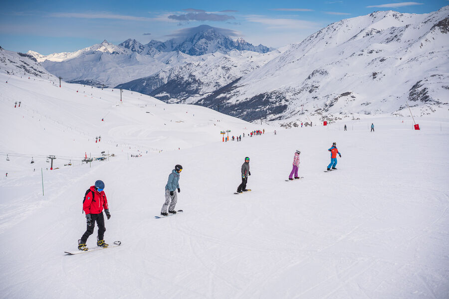 Cours collectifs snowboard Oxygène