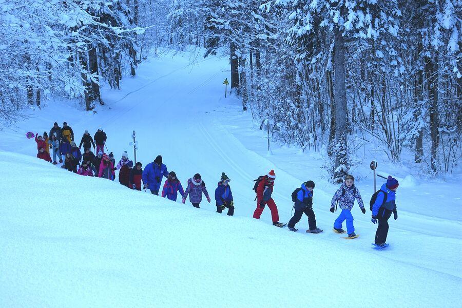 Colonies, groupes scolaires, classes de neige et de découverte Le Bérouze Samoëns