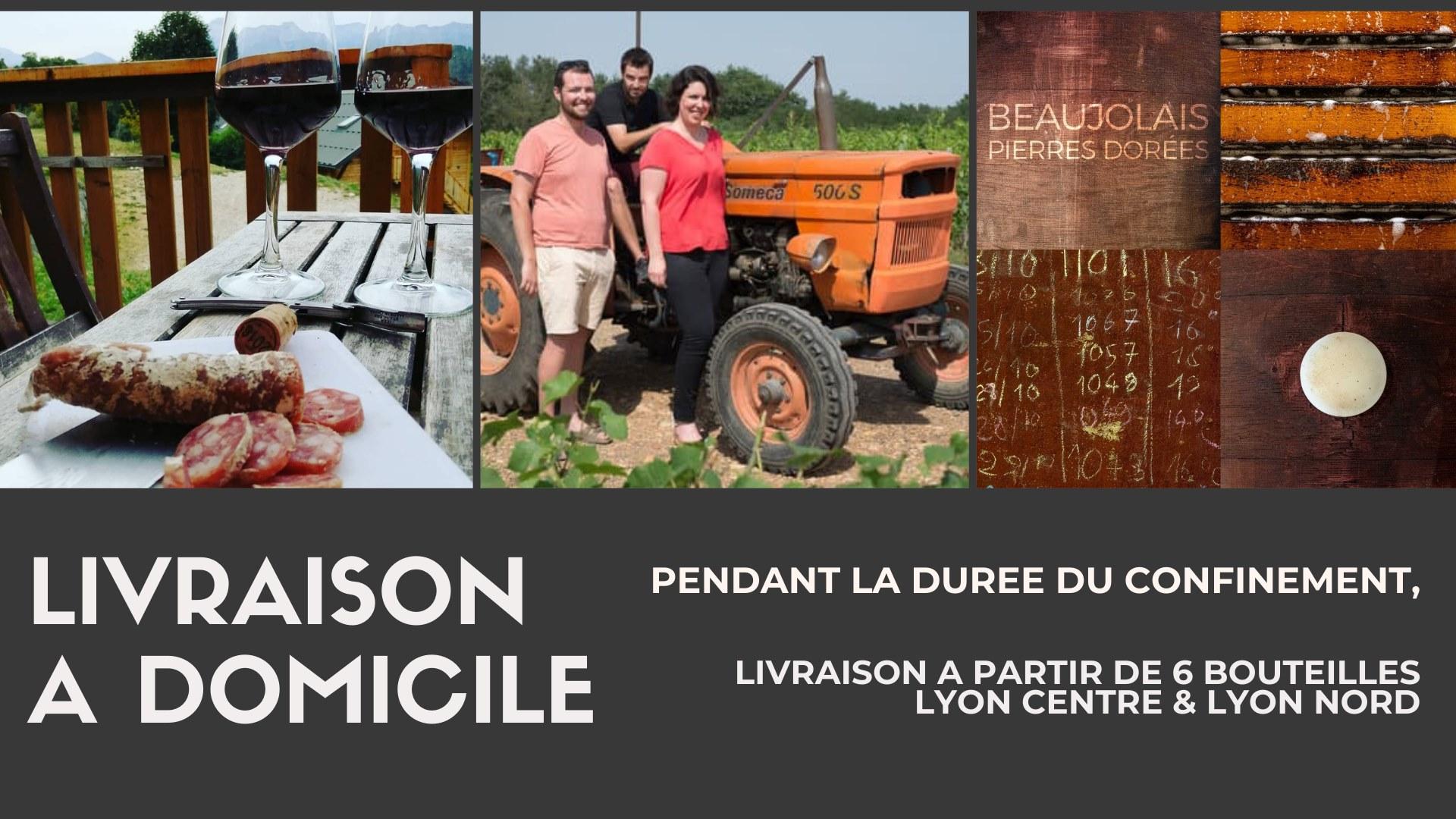 Livraison à domicile sur Lyon Centre & Lyon Nord Lachassagne