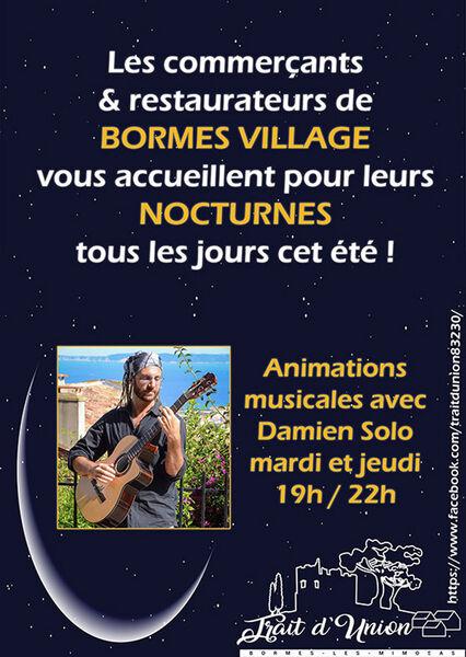 Live acoustique au village