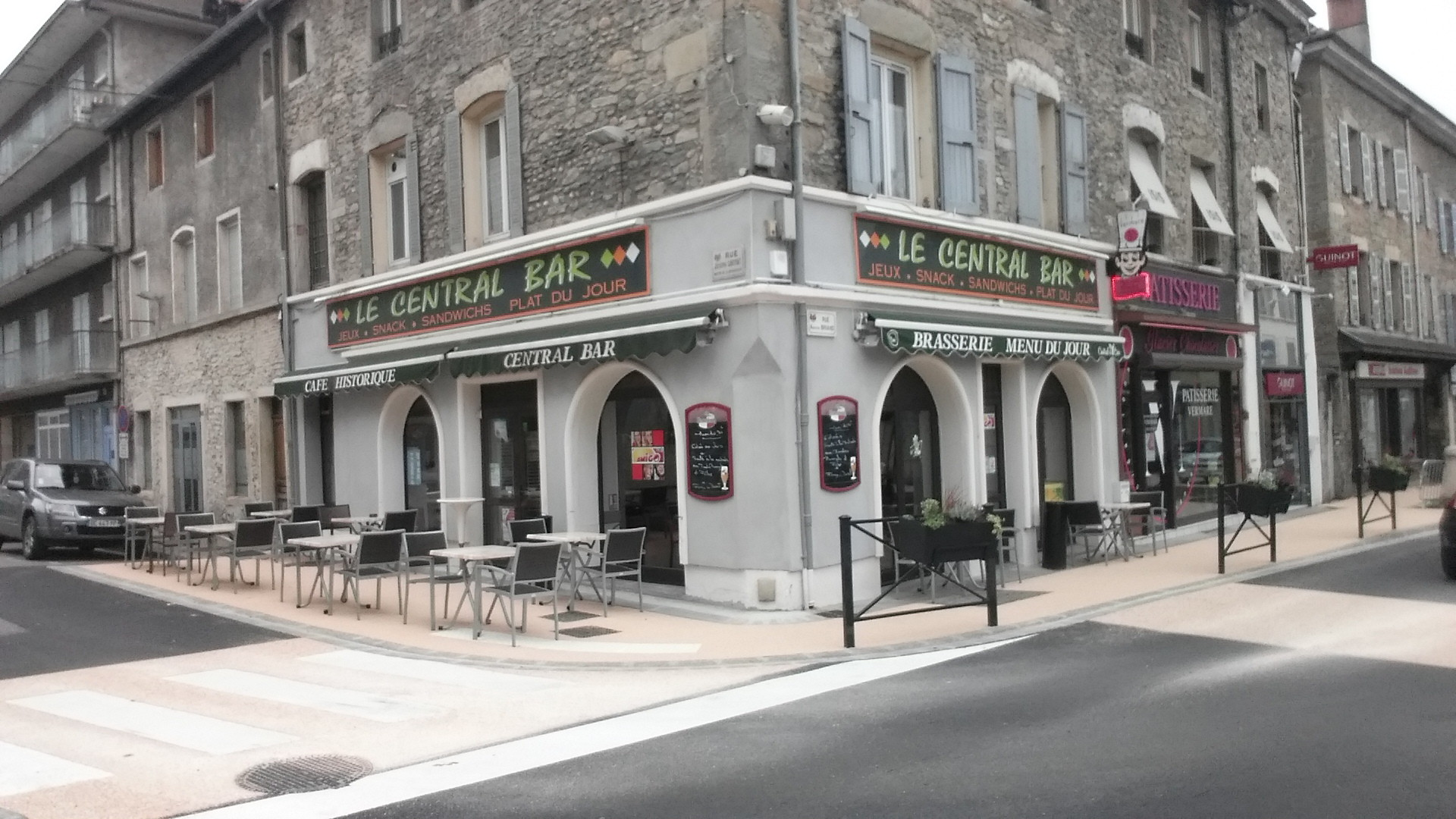 Restaurant La Case Créole - Le Central Bar