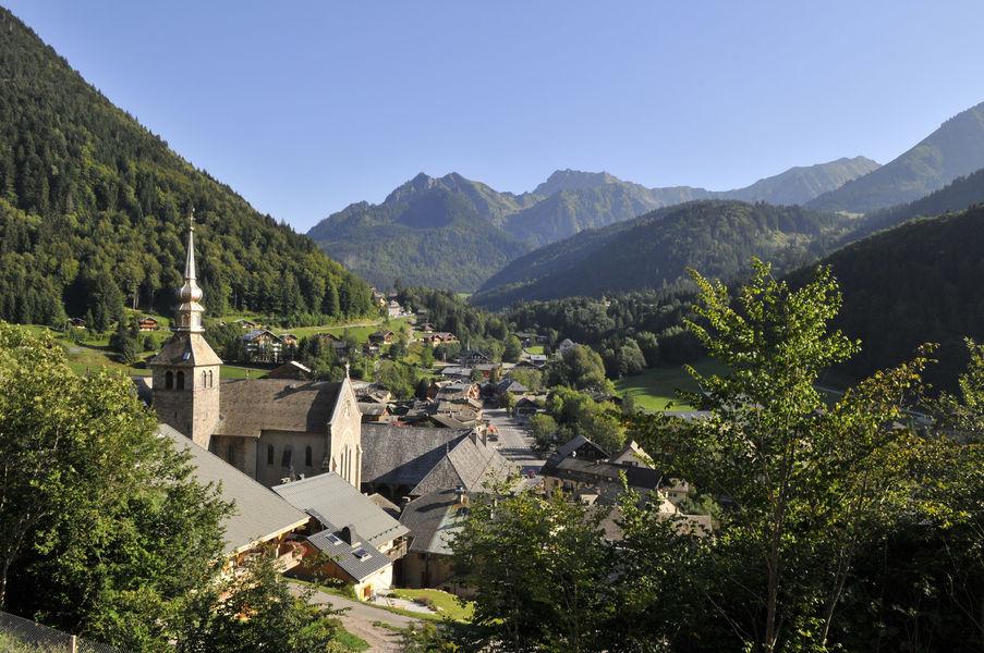 Village et abbaye d